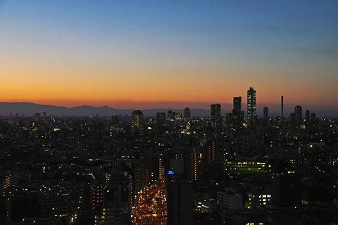 文京シビックセンターからの夜景(その1)