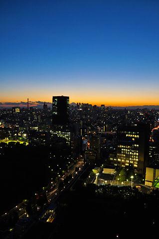 文京シビックセンターからの夜景(その2)