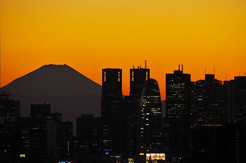 富士山と新宿副都心(その1)