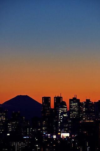 富士山と新宿副都心(その2)