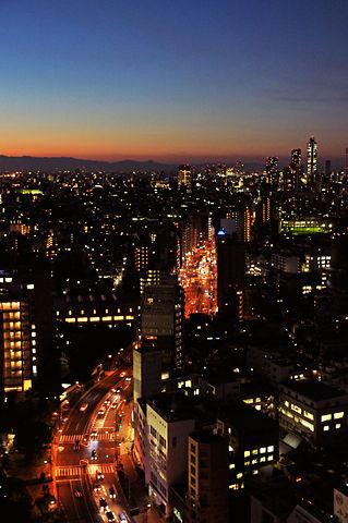 文京シビックセンターからの夜景(その3)