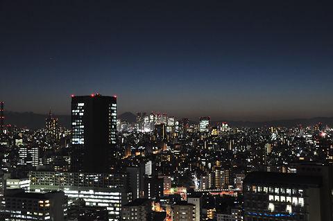 文京シビックセンターからの夜景(その5)