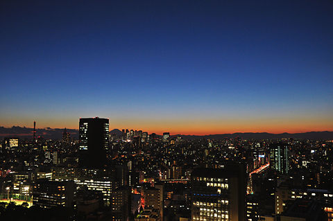 文京シビックセンターからの夜景(その4)