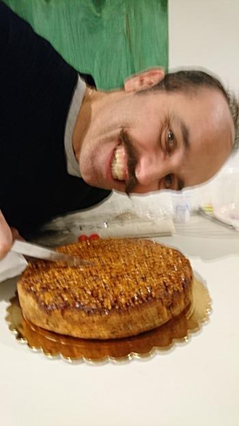 ケーキと作者