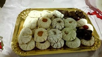 アーモンドパウダー入りクッキー