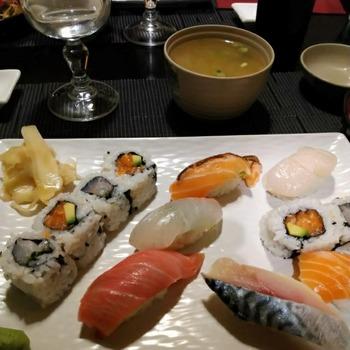 ランチ寿司セット