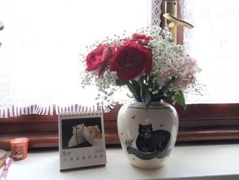 頂いたお花