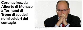 モナコ公国大公も陽性