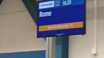 ローマ行き