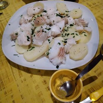 お魚とポテト