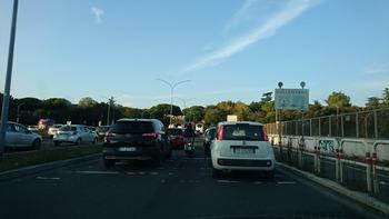 写真撮影できる渋滞