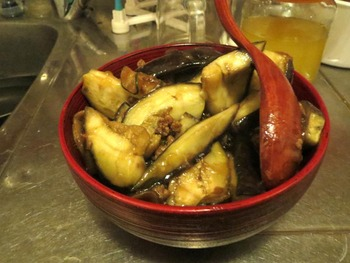 肉味噌茄子丼