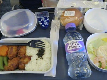 機内食その1