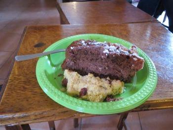 手作りケーキと・・