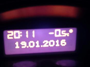 帰宅時の気温