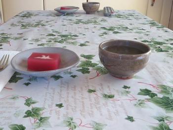 羊羹とお茶