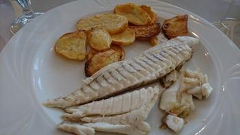 鯛とジャガイモの天火焼き