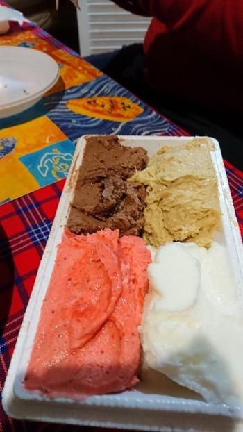 4色アイス