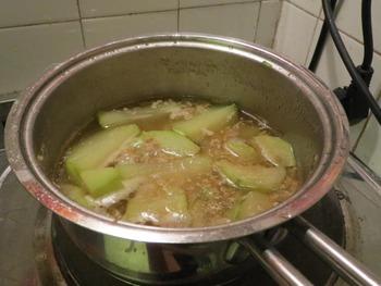 イタリア冬瓜?中華スープ