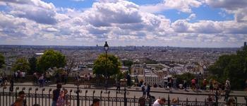 パリの街を一望