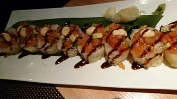 Harumaki sushi