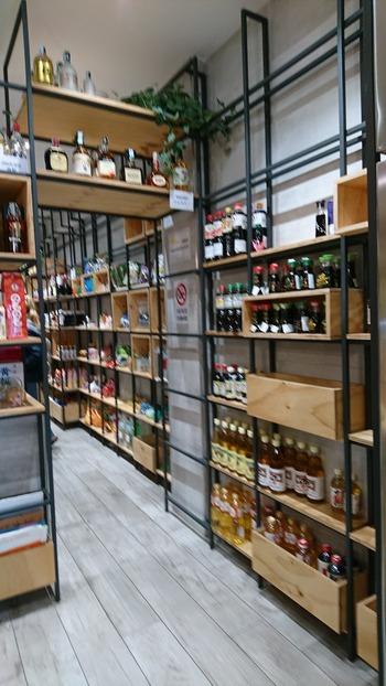 日本食材の棚