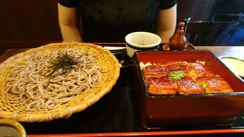 鰻重とお蕎麦