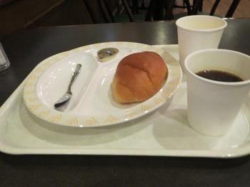 ホテルでの朝食