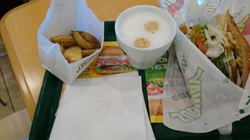 asagiさんのお昼