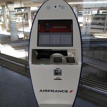 搭乗券印刷機