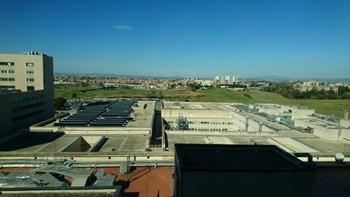 8階からの景色