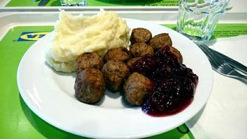 スウェーデン風鶏団子