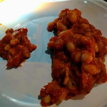 トスカーナ風白豆トマトソース煮