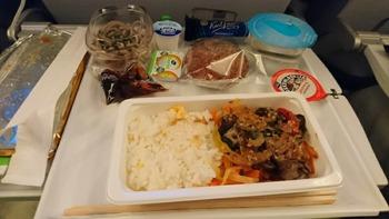 機内食1和食
