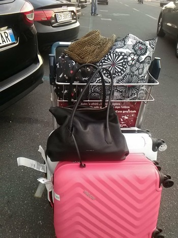 トランク合計38キロ手荷物10キロ?