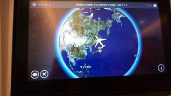 モニターの飛行図