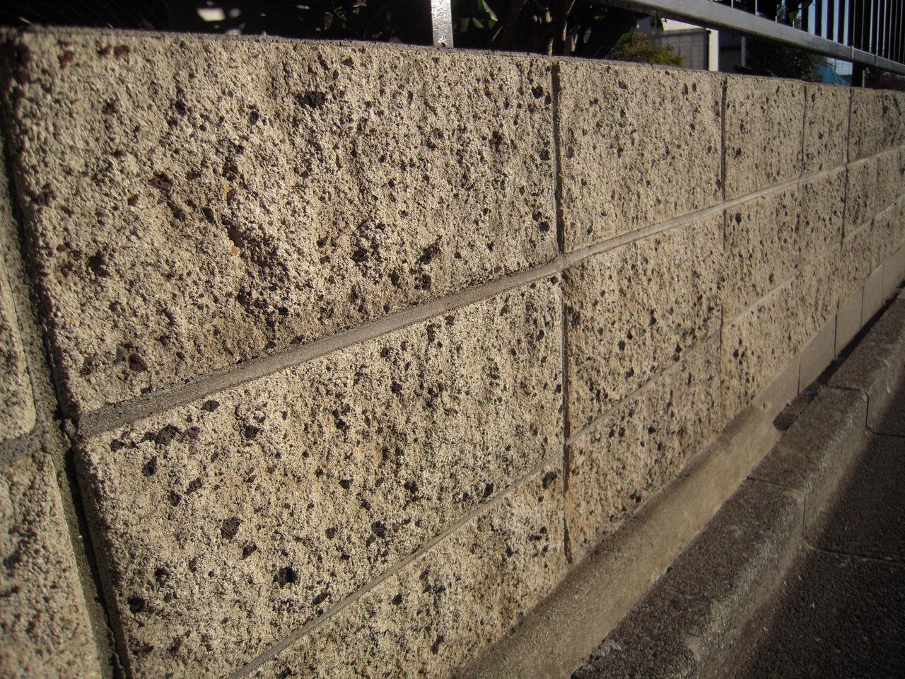 ブロック 塀 塗装