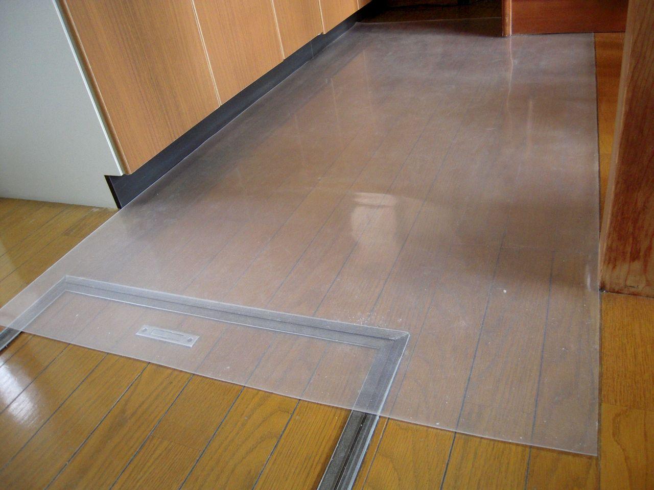 台所のリフォーム⑦ フローリング床の補修など : いえけあれぽーと