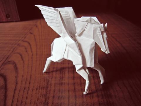 ペガサス 折り紙