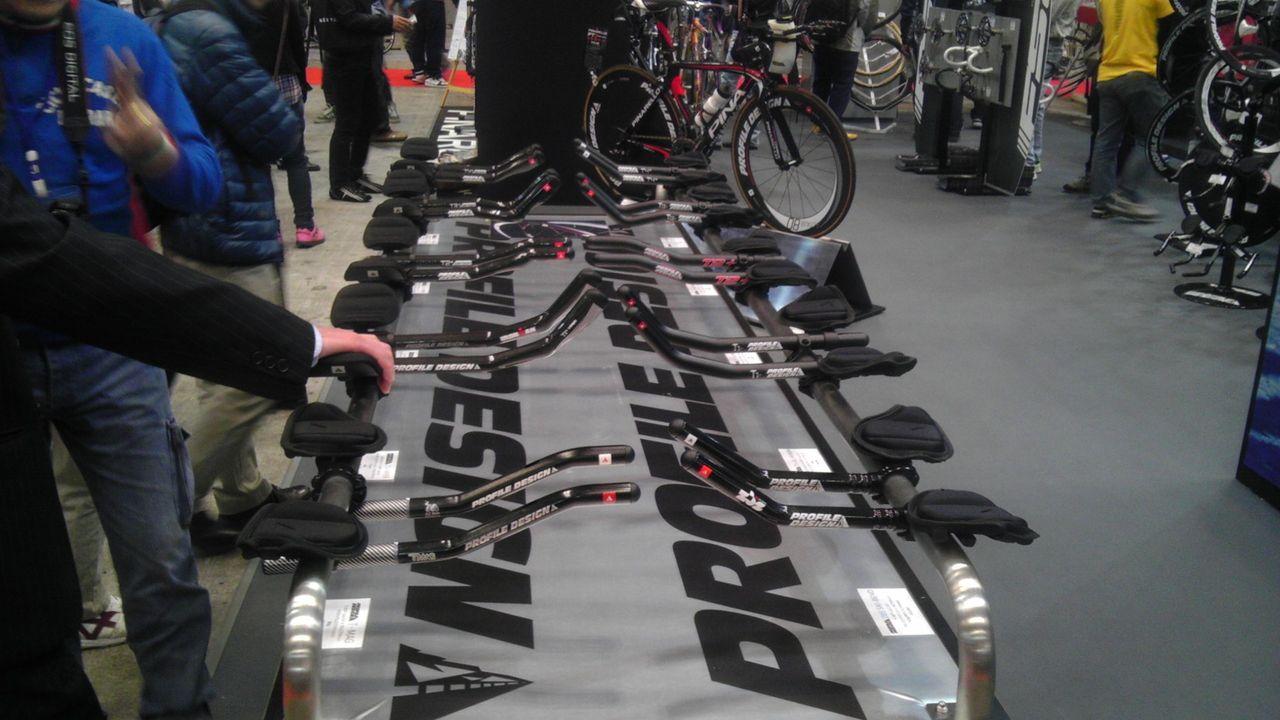 自転車の 自転車 トライアスロンバー : 今日の下見で、ほぼどれにする ...