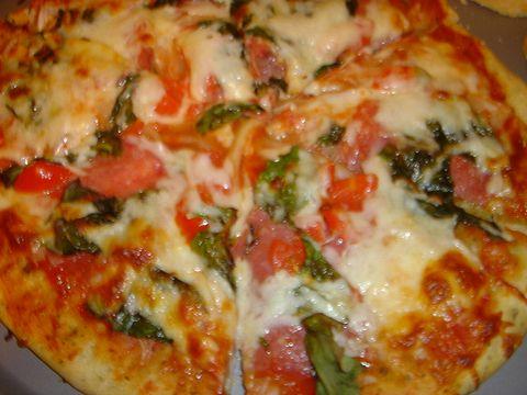2度目のピザ