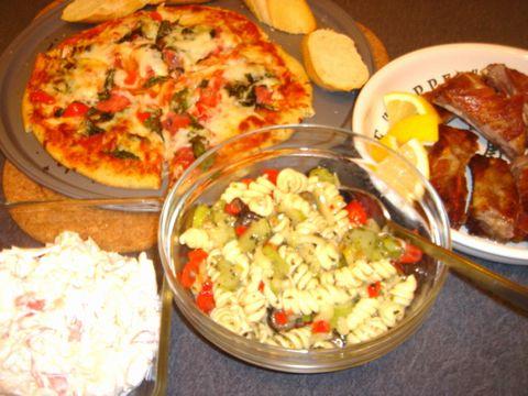 イタリアンな食卓