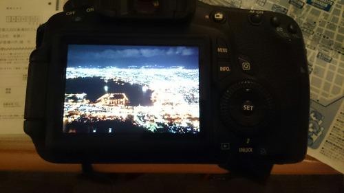 液晶モニター画像 函館山夜景