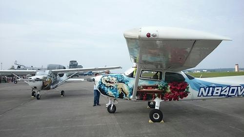 展示機 横田基地日米友好祭