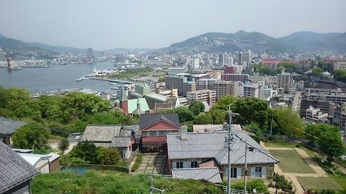 長崎市街 グラバー園