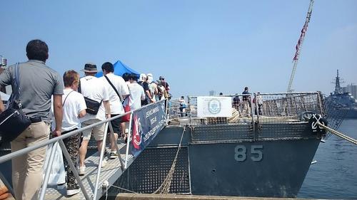 DDG-85 駆逐艦McCampbell ヨコスカサマーフェスタ2015