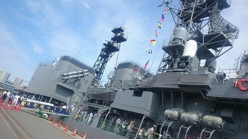 東京みなと祭 DD-153 護衛艦ゆうぎり 一般公開