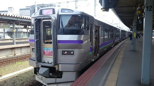 JR北海道 733系電車 はこだてライナー 函館駅
