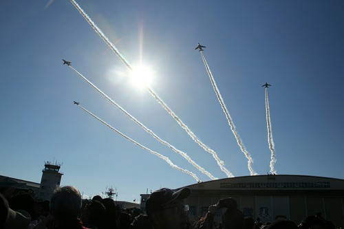 ブルーインパルス 入間航空祭2015
