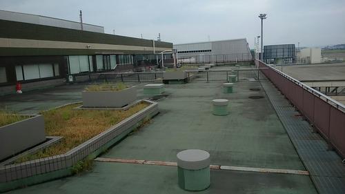旧名古屋空港 展望デッキ跡